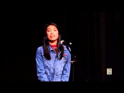 Poetry Out Loud 2016: Janelle Reyes (Round 2)