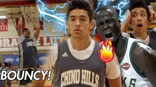 Will Pluma GETTING BOUNCY vs NBA Player's Brother!! Chino Hills STILL A TOP TEAM!