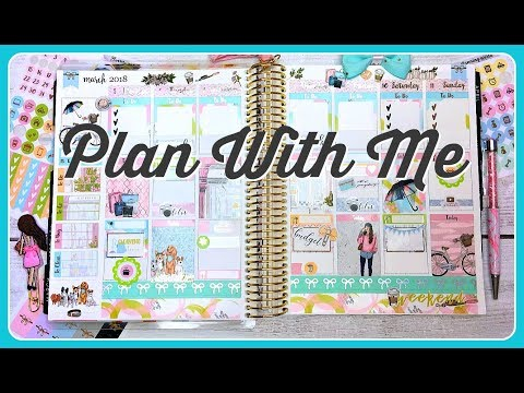 Plan With Me | ft. Planning World | Erin Condren Life Planner