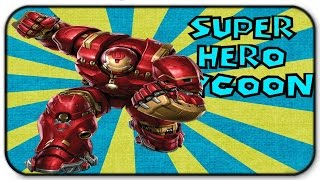 Roblox Super Hero Tycoon Hulkbuster Gameplay I Am To Big To Fit Through Doors
