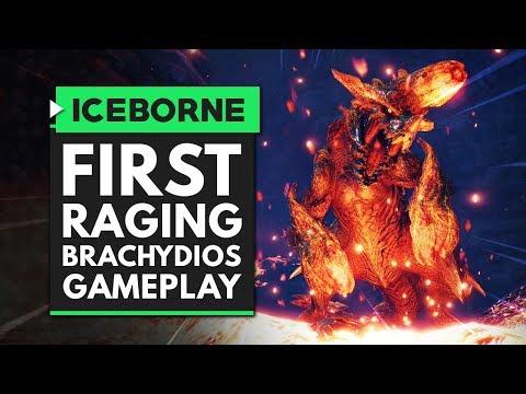 Monster Hunter World Iceborne | First Raging Brachydios Gameplay! |