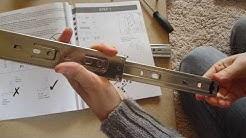 Dawson 4 drawer filing cabinet - install sliders