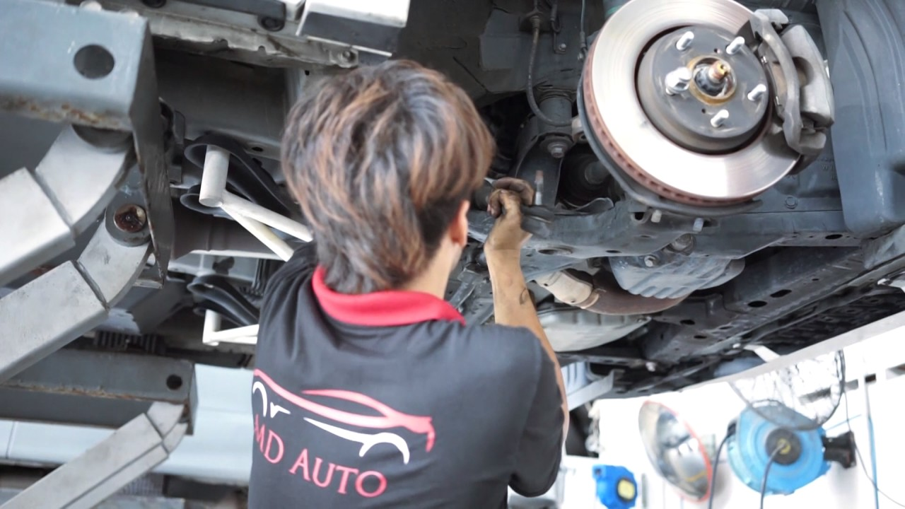 ESTIMA /vellfire SPECIALIST service centre MALAYSIA -steering KOK KOK NOISE