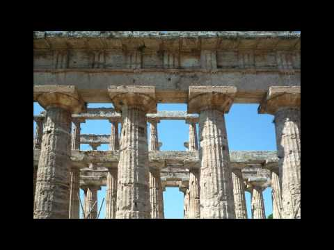 Ancient Greek temples at Paestum, Italy