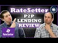 RateSetter Review (2019) - Peer-To-Peer Lending Platform