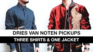 Dries Van Noten Pickups (Three Shirts & One Jacket)