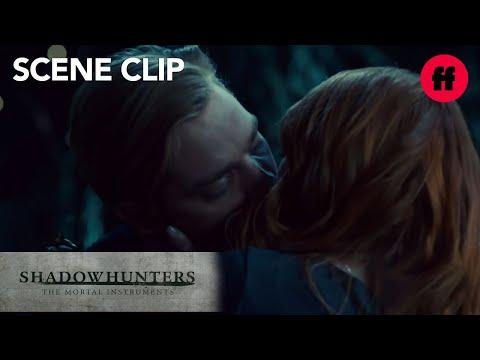 Shadowhunters | Season 2, Episode 14: Clary Kisses Jace | Freeform