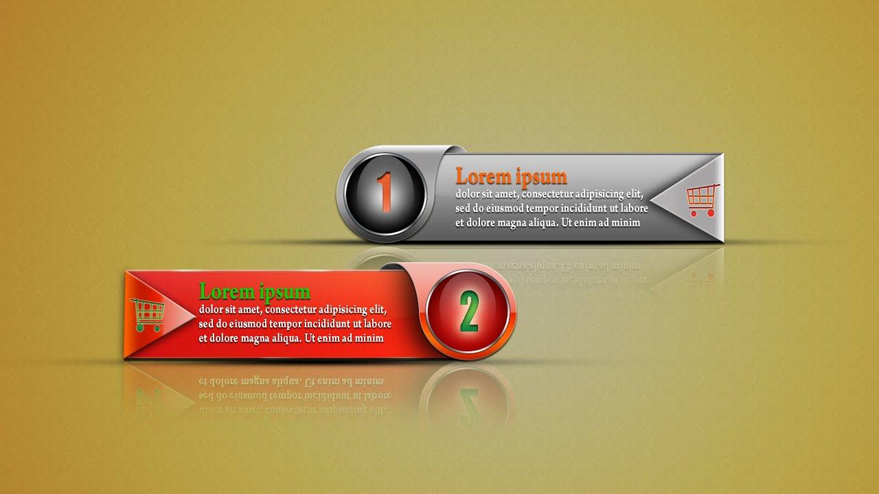 photoshop tutorial  web banner design  in hindi  urdu  youtube