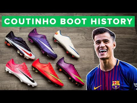 COUTINHO BOOT HISTORY 2006  2018  All the football boots worn  Philippe Coutinho