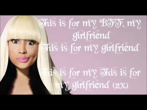 NICKI MINAJ bff girlfriend