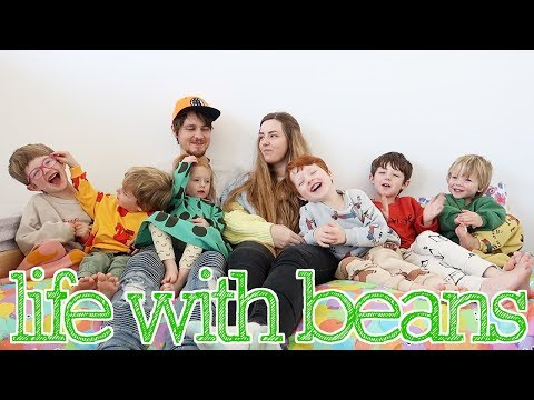 New Intro! (Family Vloggers/Young Parents of Six Kids aged 6,5,4,3,3,3) thumbnail