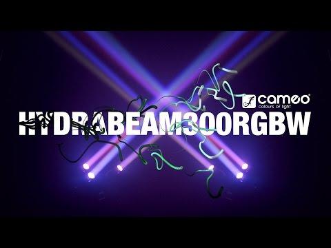 Set de 3 projecteurs CAMEO HYDRABEAM 300 RGBW  vidéo