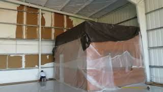 Airplane Hangar Painting in Orlando Florida