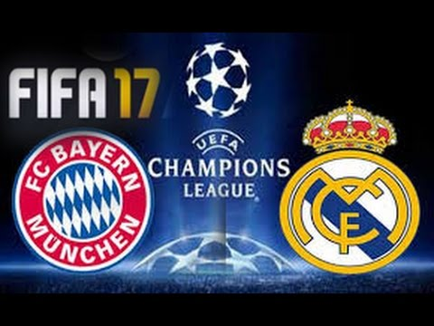 Bayern Munich x Real Madrid - Champions League 16/17