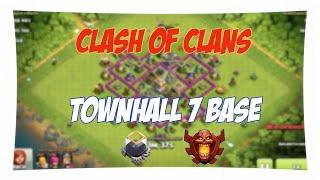 BESTE RATHAUS 7 POKAL BASE! - Clash of Clans | Paulipan