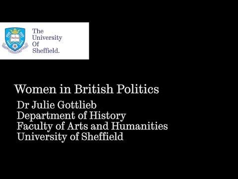 Women in British politics - The University of Sheffield