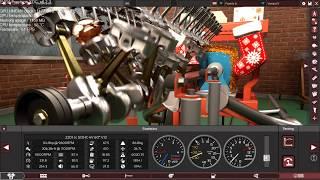 11000 RPM V12 Engine.