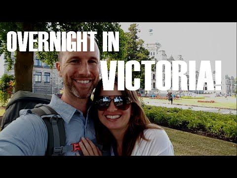 Victoria, British Columbia  - An Overnight Visit