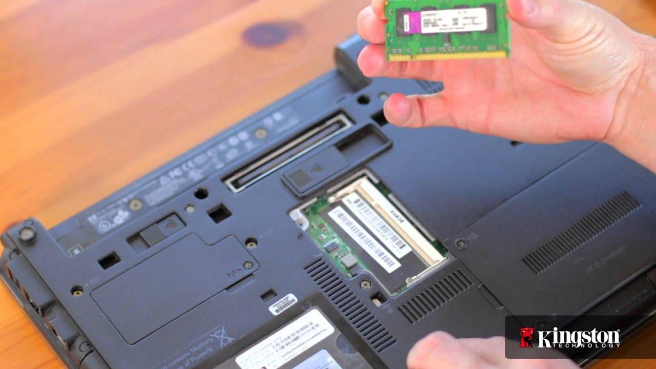 Instalación De Módulos De Memoria En Su Pc Tipo Notebook