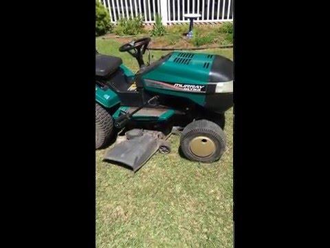 1996 Murray Ultra Garden Tractor Mower Youtube