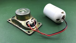 Free Energy Kit With Speaker Magnet | New Science Project 2019