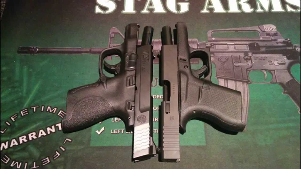 M And P Shield Vs Glock 26 Smith & Wesson M&a...