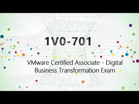CertQueen| VMware certification VCA-DBT 1V0-701 PDF download - WorldNews