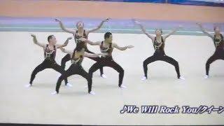 ユニークで楽しい男子新体操(鹿実)Men's Rhythmic Gymnastics thumbnail