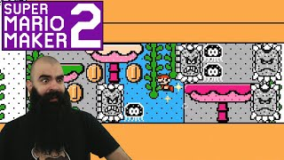 Mario Maker 2: No Skip Endless Super Expert Challenge #13 - I did my best..