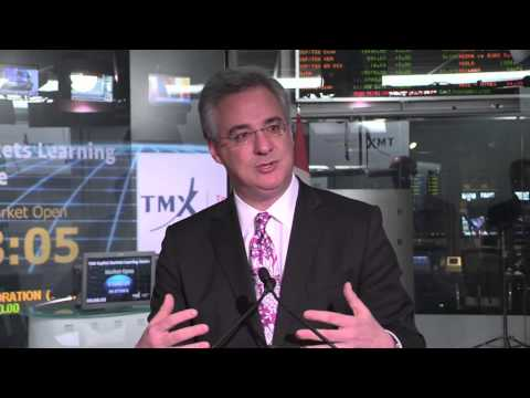 TMX Capital Markets Learning Centre opens Toronto Stock Exchange, November 15, 2103.