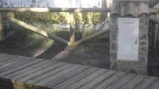 vallas pasarelas talanqueras Camping Los Gazules