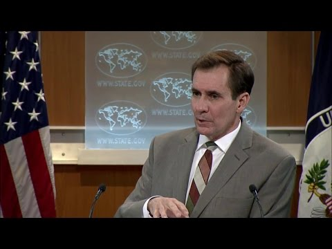 Daily Press Briefing - January 29, 2016