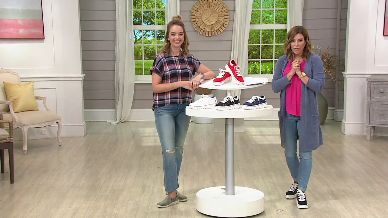 Skechers Street Cleats 2 Bring It Back Sneakers on QVC