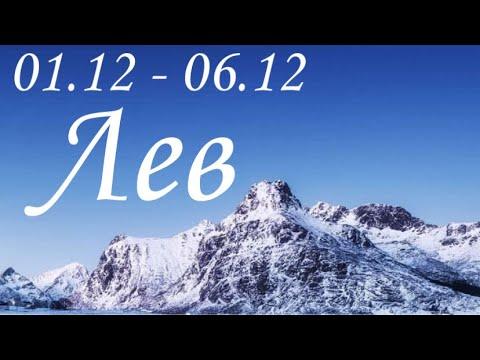 Прогноз на неделю с 1 по 6 декабря для представителей знака зодиака Лев