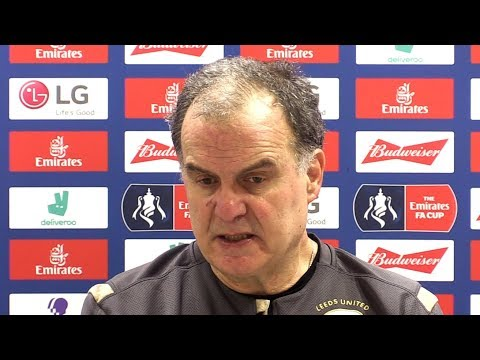 Arsenal 1-0 Leeds - Marcelo Bielsa FULL Post Match Press Conference - FA Cup