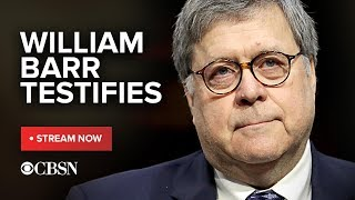AG William Barr testifies on Mueller report before Senate Judiciary Committee, live stream