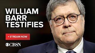 AG Barr William Mueller raporu Senato adalet Komitesi, canlı yayını önce ifade verdi