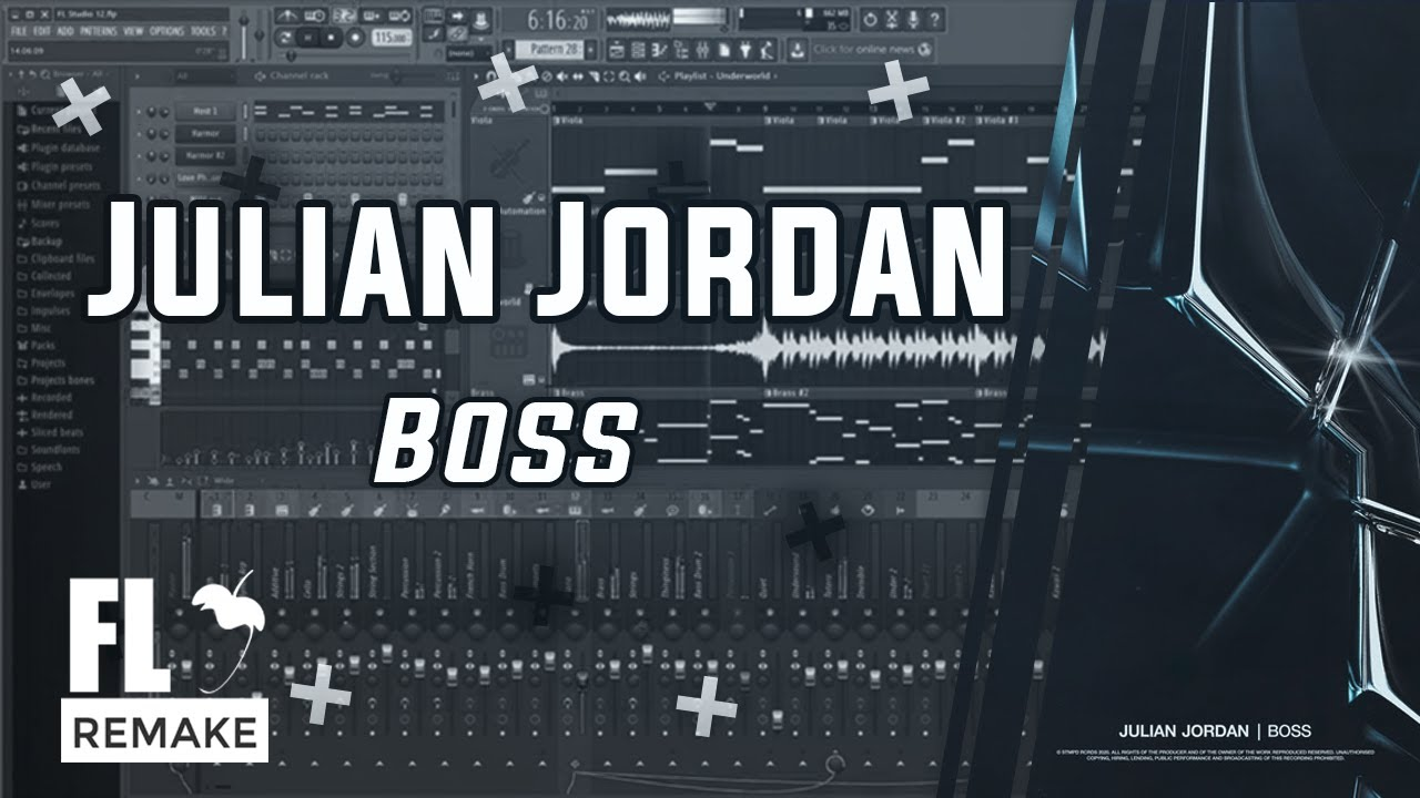 Julian Jordan - Boss (FL Studio Remake + FLP)