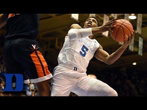 Duke's RJ Barrett Comes Up Big In Big Game