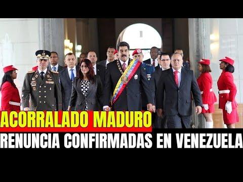 NICOLAS MADURO ACORRALADO - MINISTROS ABANDONAN A NICOLAS MADURO EN VENEZUELA