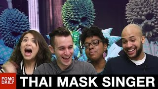 "Durian Mask Singer ""Set Fire To The Rain"" • Fomo Daily Reacts"