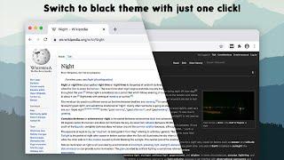 Dark Theme for chrome (Dark Theme extension)