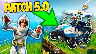 ALL you DON'T KNOW about FORTNITE's PATCH 5.0 !