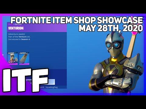 Fortnite Item Shop *RARE* VENTURE SET IS BACK! [May 28th, 2020] (Fortnite Battle Royale)