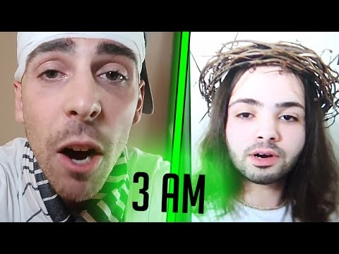"YouTuber ImJayStation Calls Fake ""Jesus"" At 3 AM"