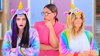 10 Kendin Yap Tarzı İyi Unicorn Okul Malzemesi – Kötü Unicorn Okul Malzemesine Karşı!