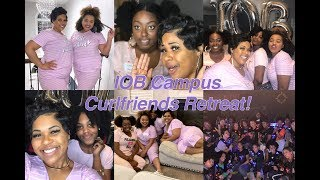 Impressions of Beauty Campus Curlfriends Retreat in ATL Vlog | Krystal Hall