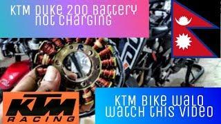 JG 1.7.3 Error KTM Duke200 battery charging problem (Why battery not charging in KTM Duke)