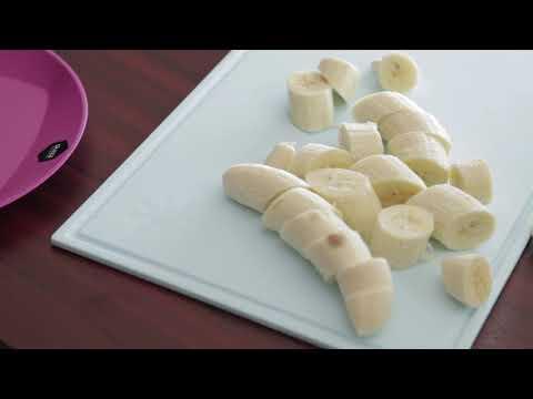 Najbolj enostaven nutella banana sladoled