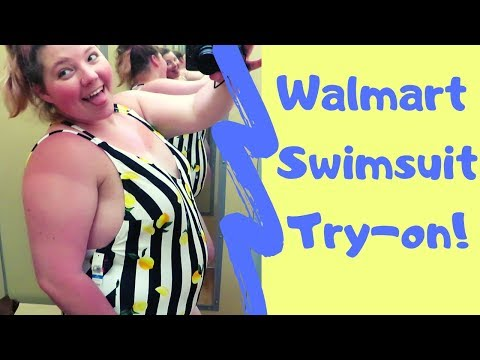 Walmart Plus Size Swimsuit Try-on Haul!